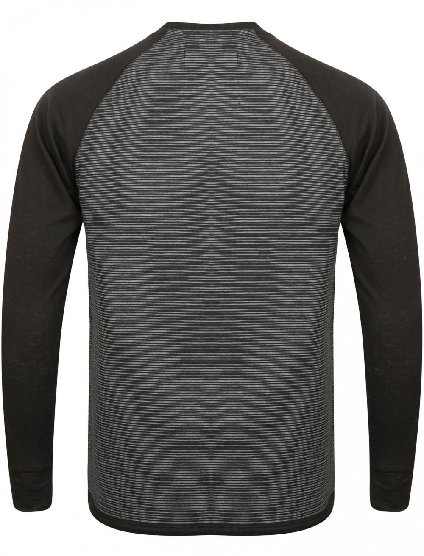 New Mens Tokyo Laundry Sephro Raglan Long Sleeve Henley T-shirt Top Size S-XL