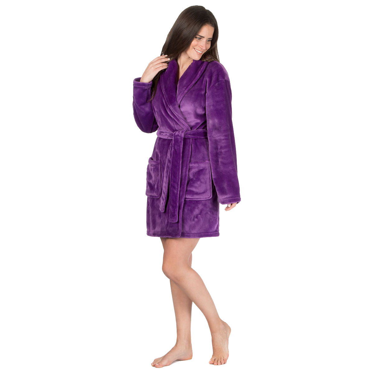 Ladies Forever Dreaming Novelty Dressing Gown Bed Coat Shawl Snuggle Top