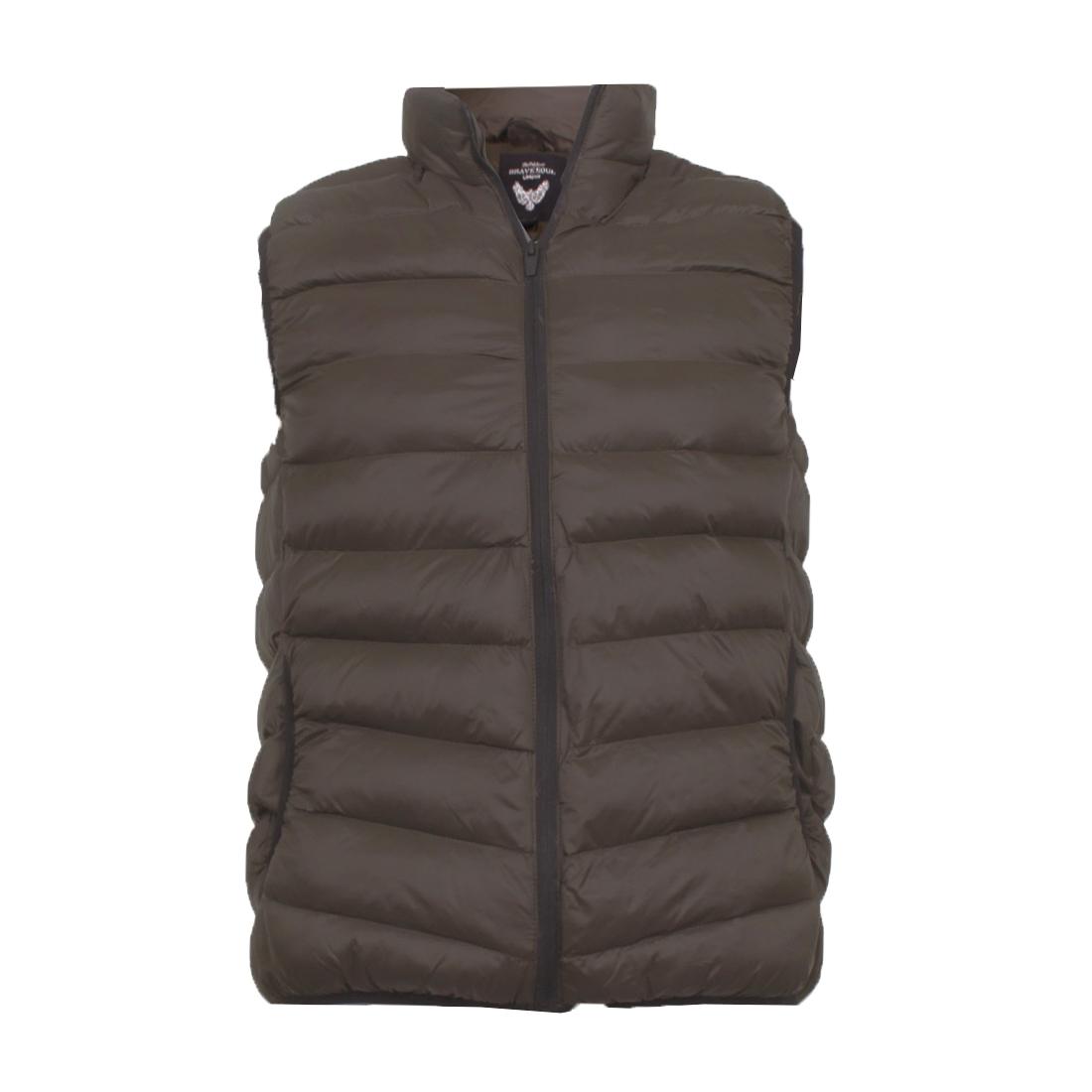 Men/'s Brave Soul Gillet Chadderton Body Warmer Puffer