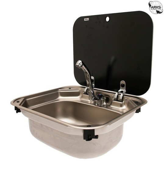 Dometic Smev 8005 Stainless Sink With Lid No Taps