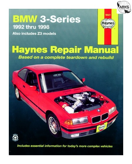 Haynes Car Manual Bmw 3 Series Amp Z3 1992 1998 18021a