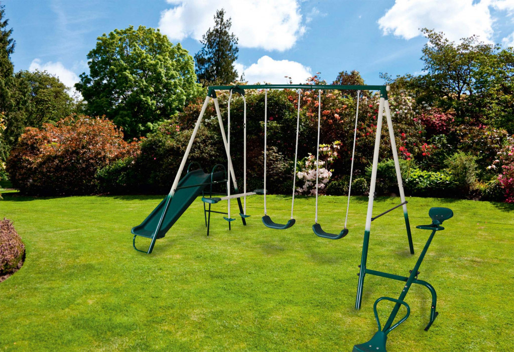SupaGarden Multi Function Childrens Kids Play Area Swing ...