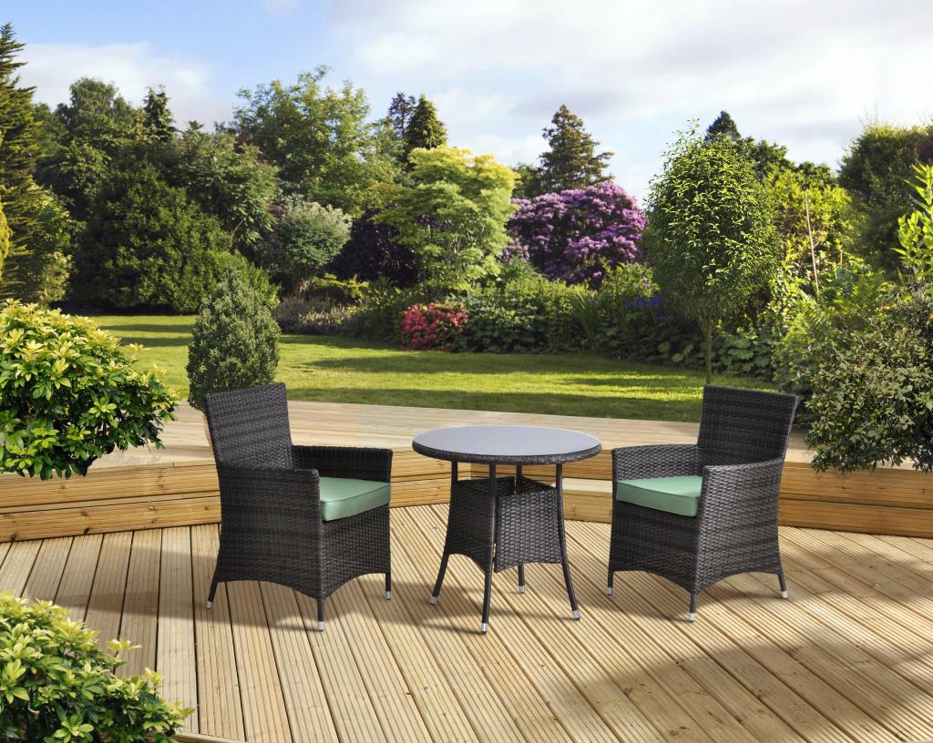 Pagoda Sorrento Rattan Outdoor Garden Furniture 2 chair   Table 3 pce  Bistro Set. Pagoda Sorrento Rattan Outdoor Garden Furniture 2 chair   Table 3