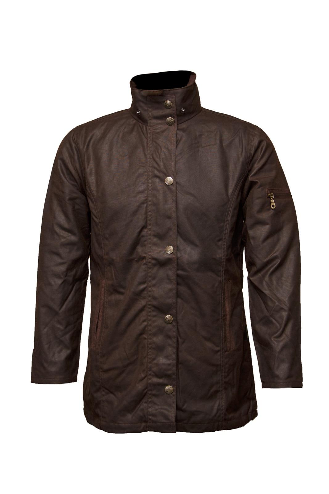 New Hunter Outdoor Ladies Heritage Wax Jackets Coats Antique Brown ...
