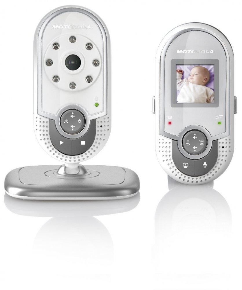 motorola mbp20 video baby monitor 1 5 inch screen 1 8hz dect technology. Black Bedroom Furniture Sets. Home Design Ideas