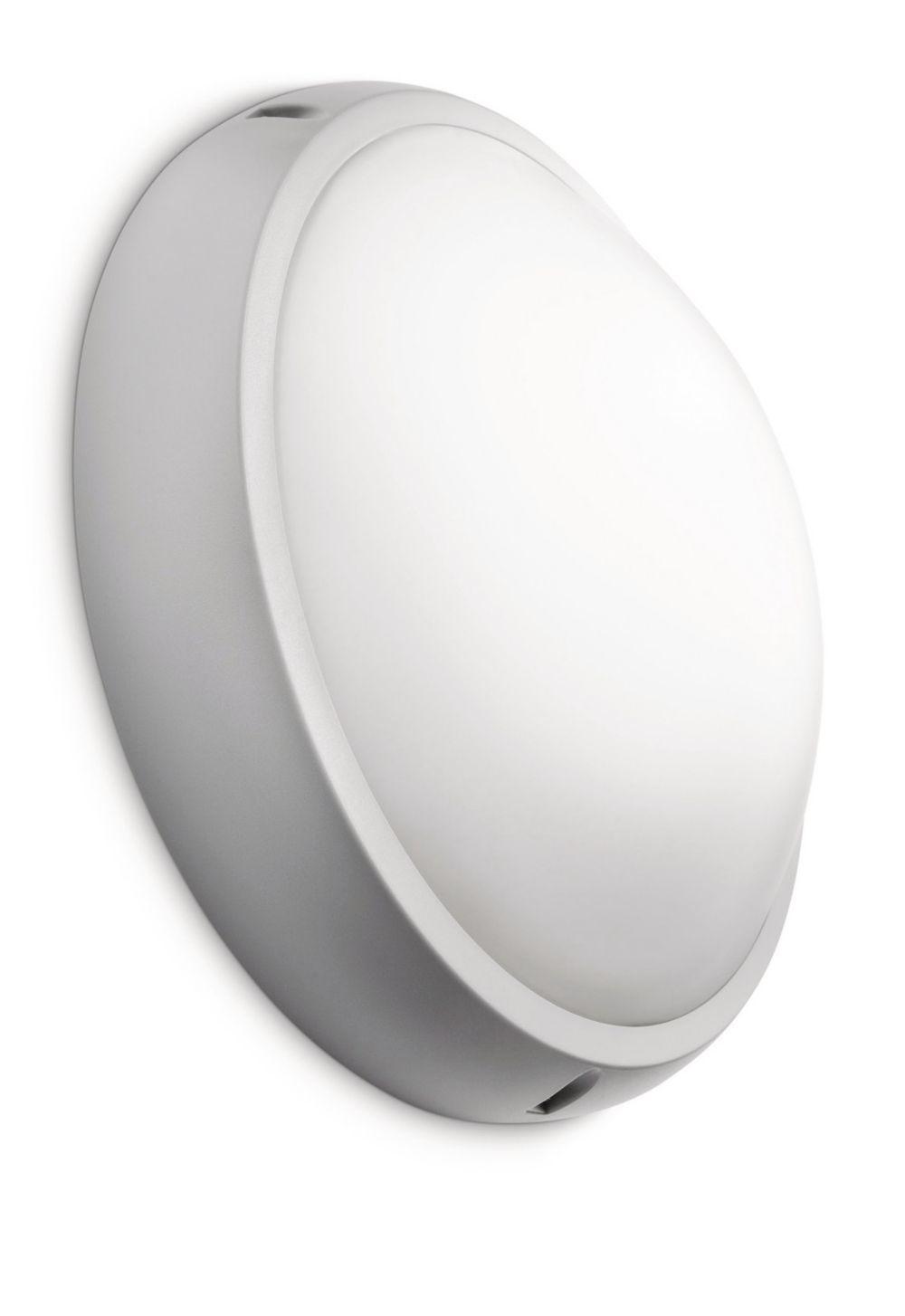 Gemütliches Licht Tipps philips le außenbereich paradise wandleuchte warmweißes licht 2700k grau ebay