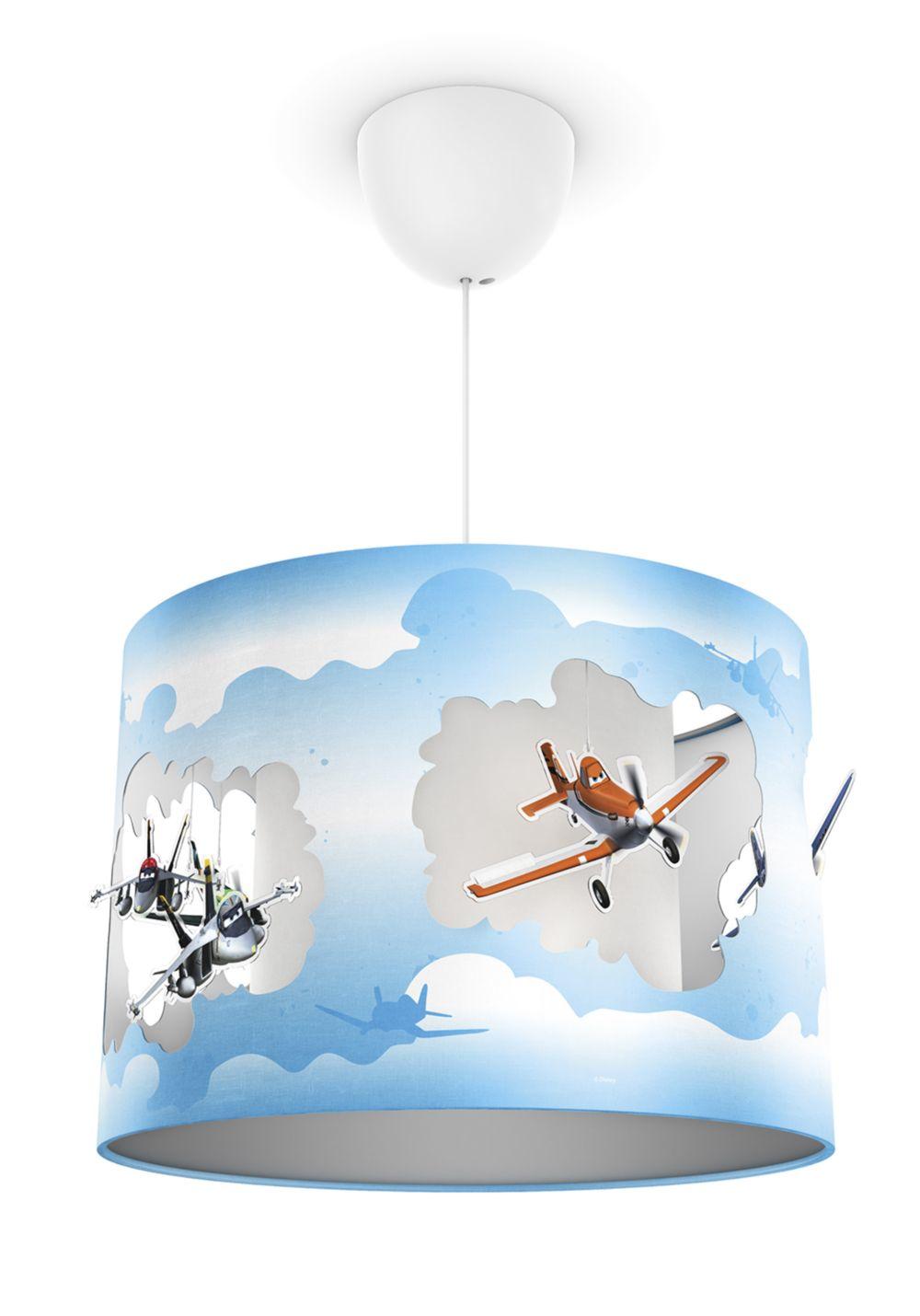 Philips disney suspension planes lampe chambre d enfant - Suspension chambre d enfant ...