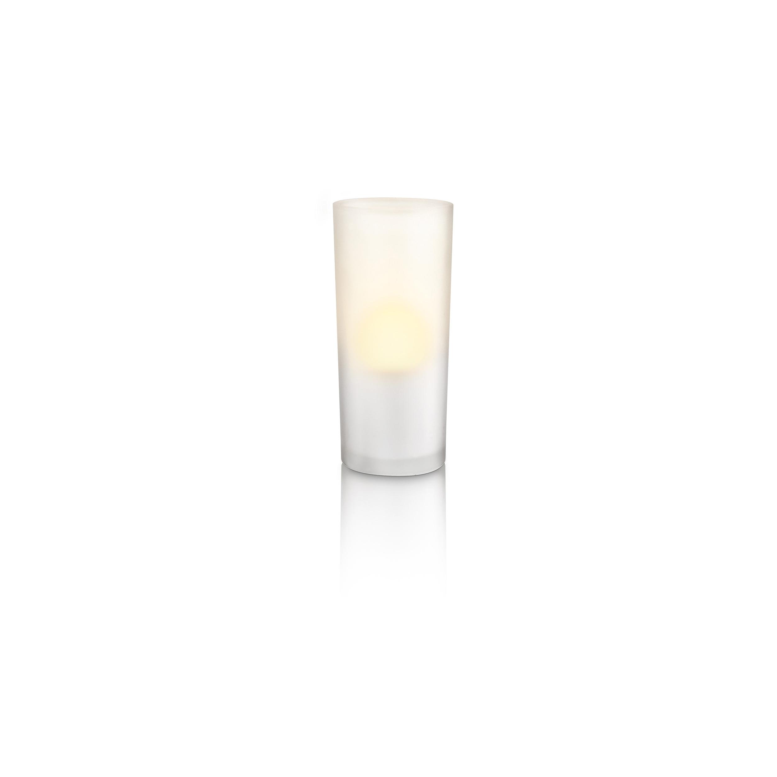 philips led lampe au enbereich candlelights tischleuchte 8w licht 6910860ph ebay. Black Bedroom Furniture Sets. Home Design Ideas
