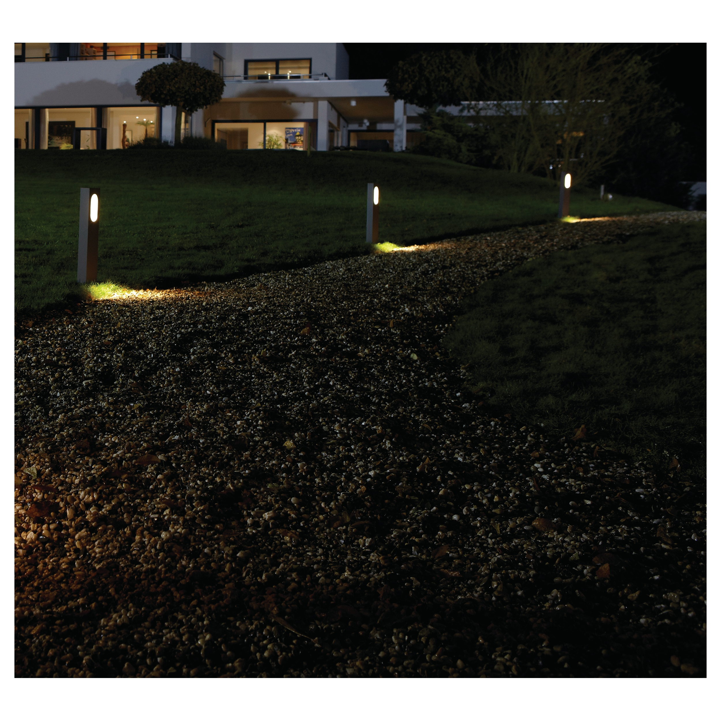 philips ledino borne potelet ext rieur moderne lampe led 168179316 ebay. Black Bedroom Furniture Sets. Home Design Ideas