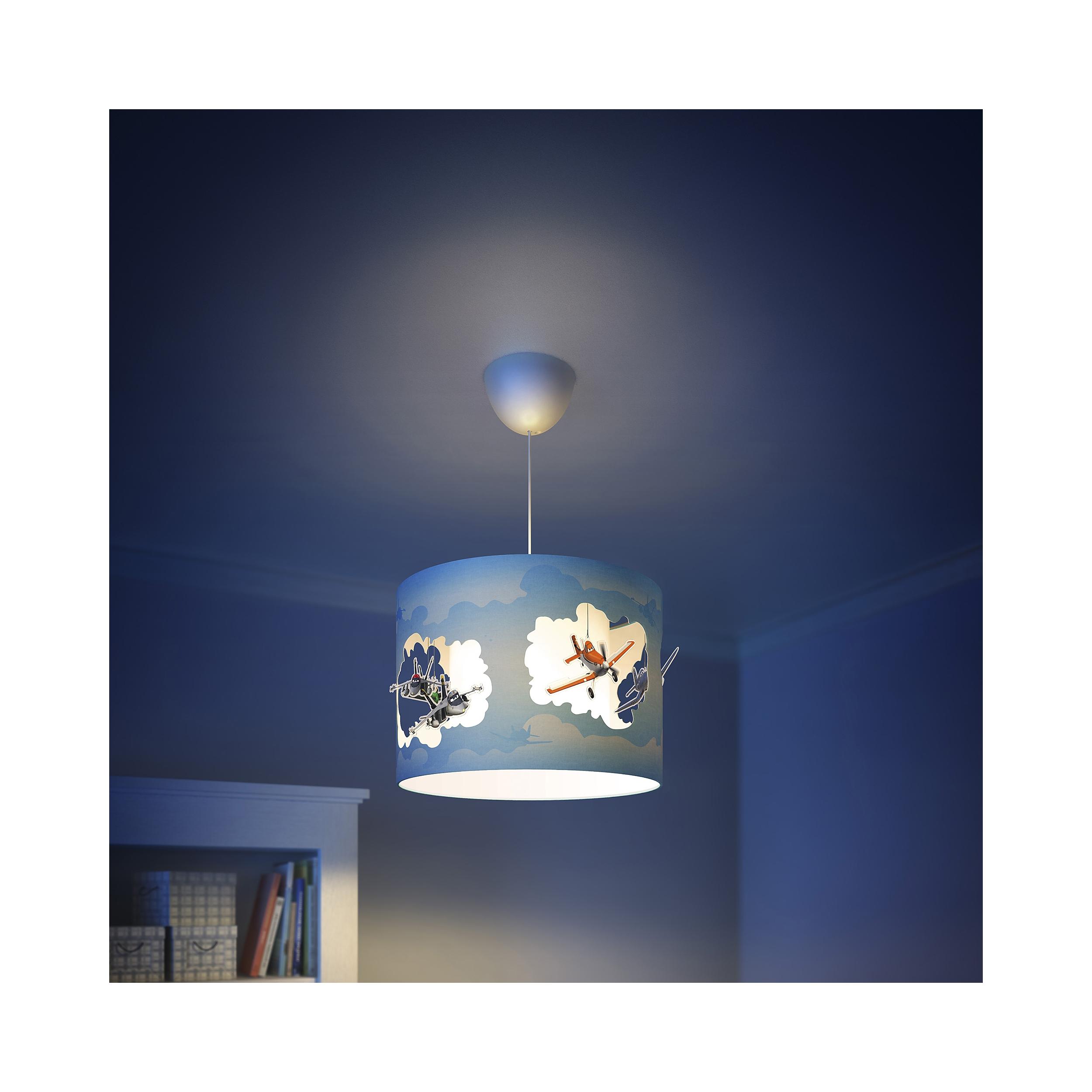 philips lampe kinderzimmer disney pendelleuchte planes licht 717545316 ebay. Black Bedroom Furniture Sets. Home Design Ideas