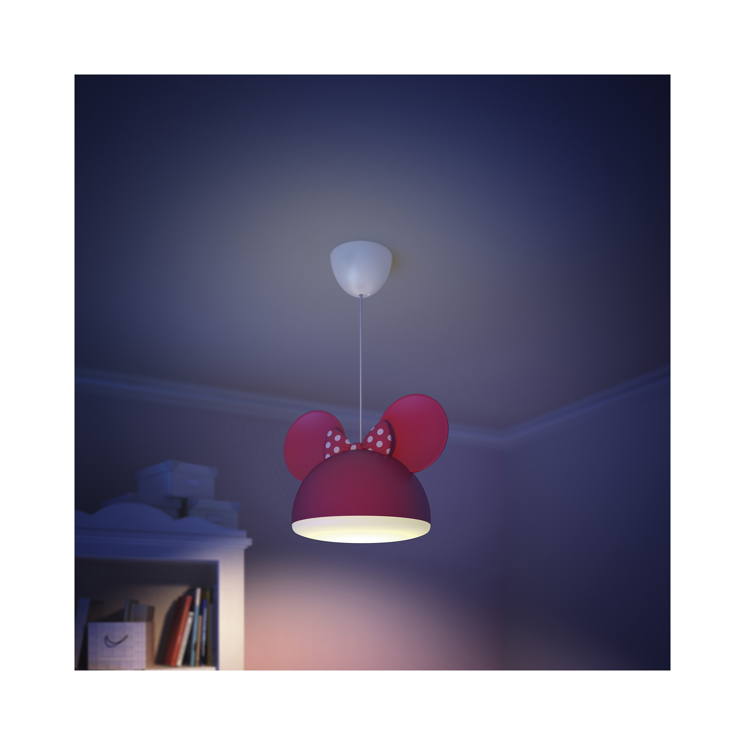 philips lampe kinderzimmer disney pendelleuchte minnie mouse licht 717583116 ebay. Black Bedroom Furniture Sets. Home Design Ideas