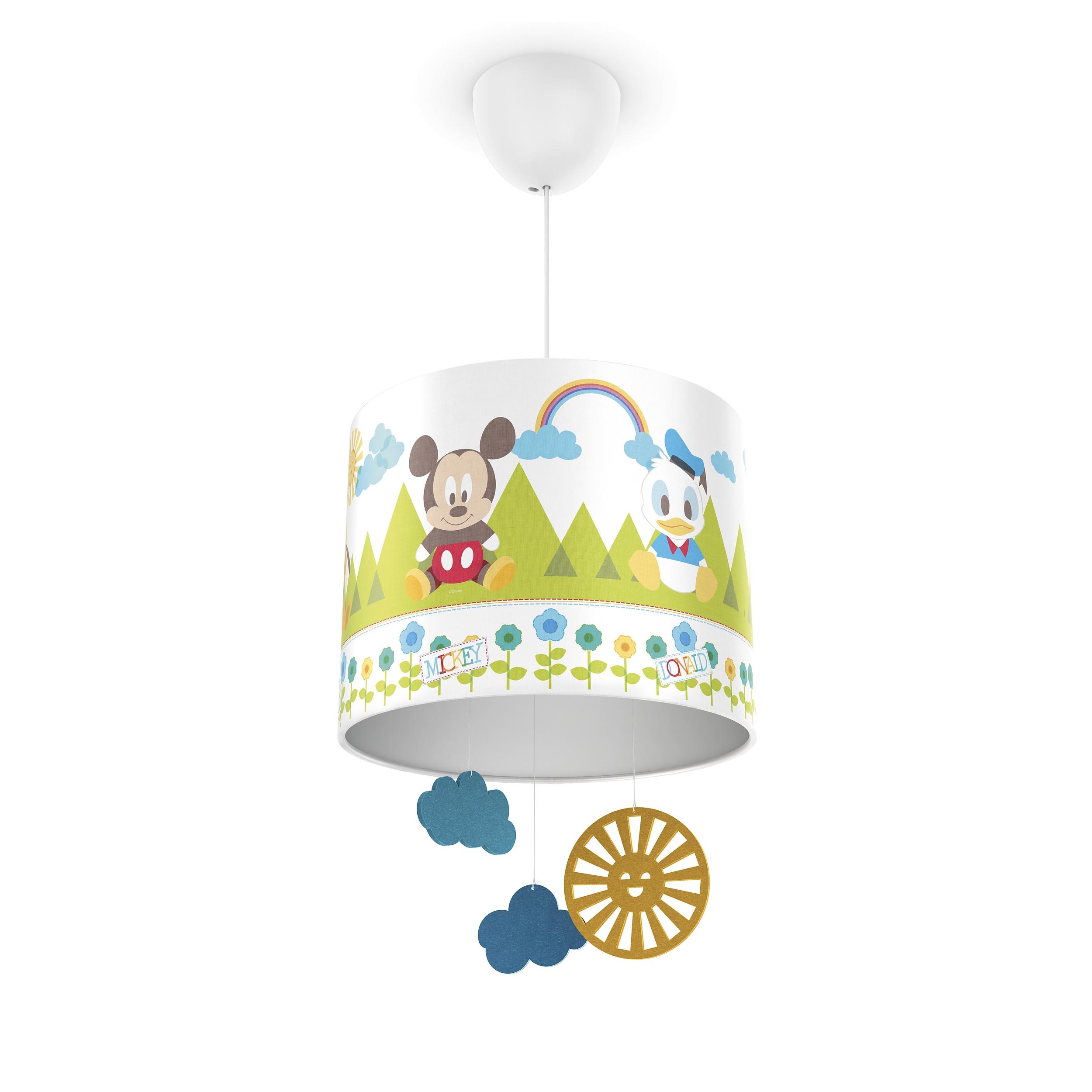 Philips lampe kinderzimmer disney pendelleuchte mickey for Disney kinderzimmer