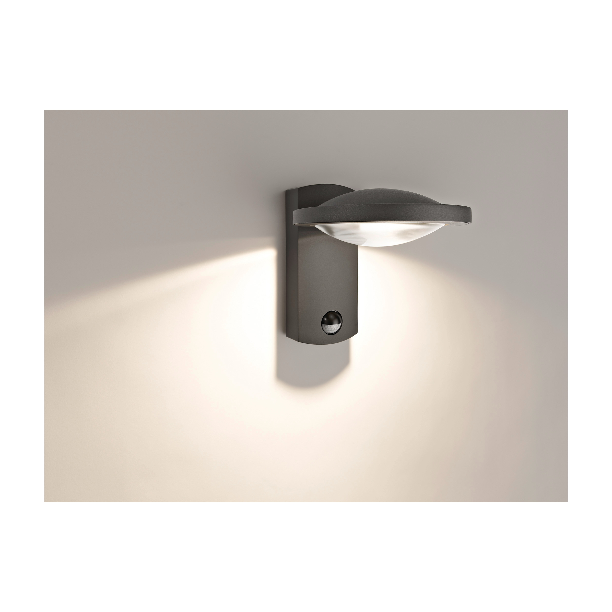 Philips ledino applique murale ext rieur moderne lampe led for Lampe a led exterieur