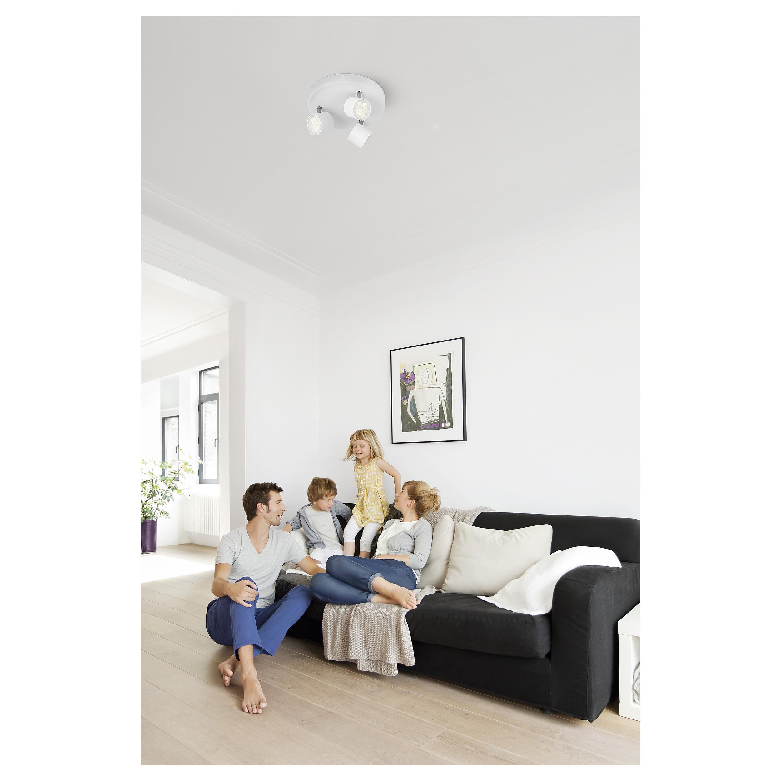 philips spot chambre coucher salon contemporain lampe. Black Bedroom Furniture Sets. Home Design Ideas