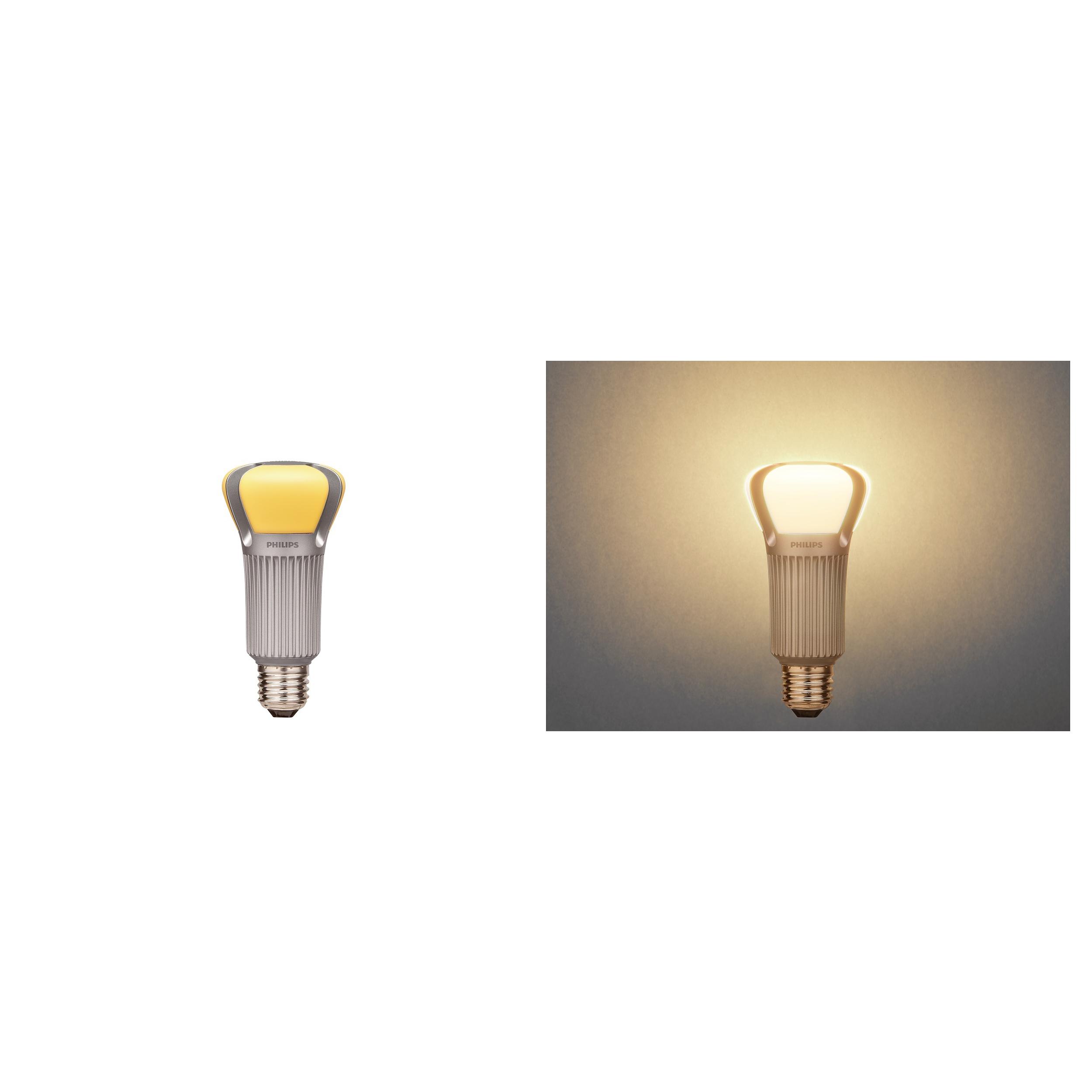 philips led lampe standardform e27 75w warmwei es licht. Black Bedroom Furniture Sets. Home Design Ideas