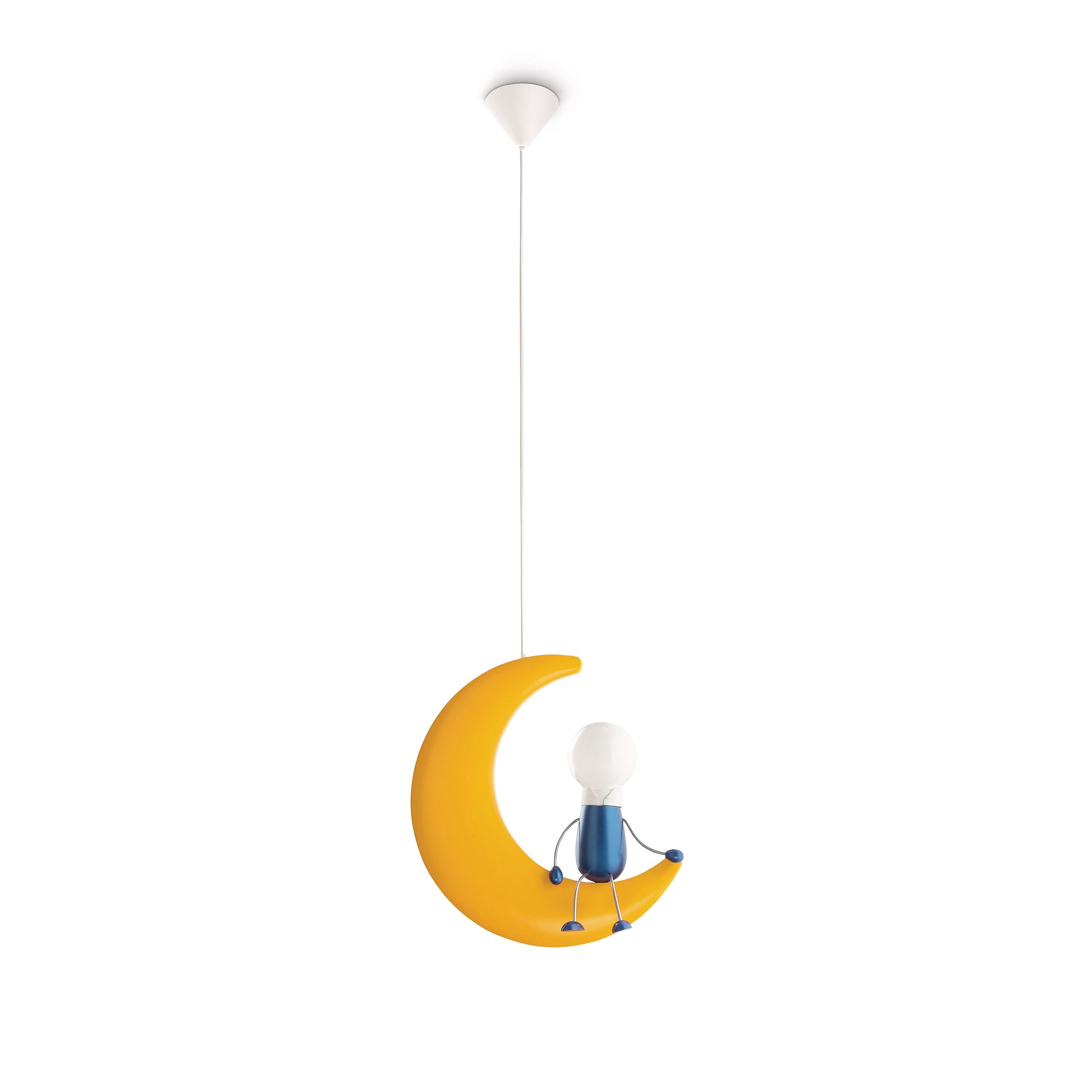 philips lampe kinderzimmer lunardo pendelleuchte warmwei es licht 2700k ebay. Black Bedroom Furniture Sets. Home Design Ideas