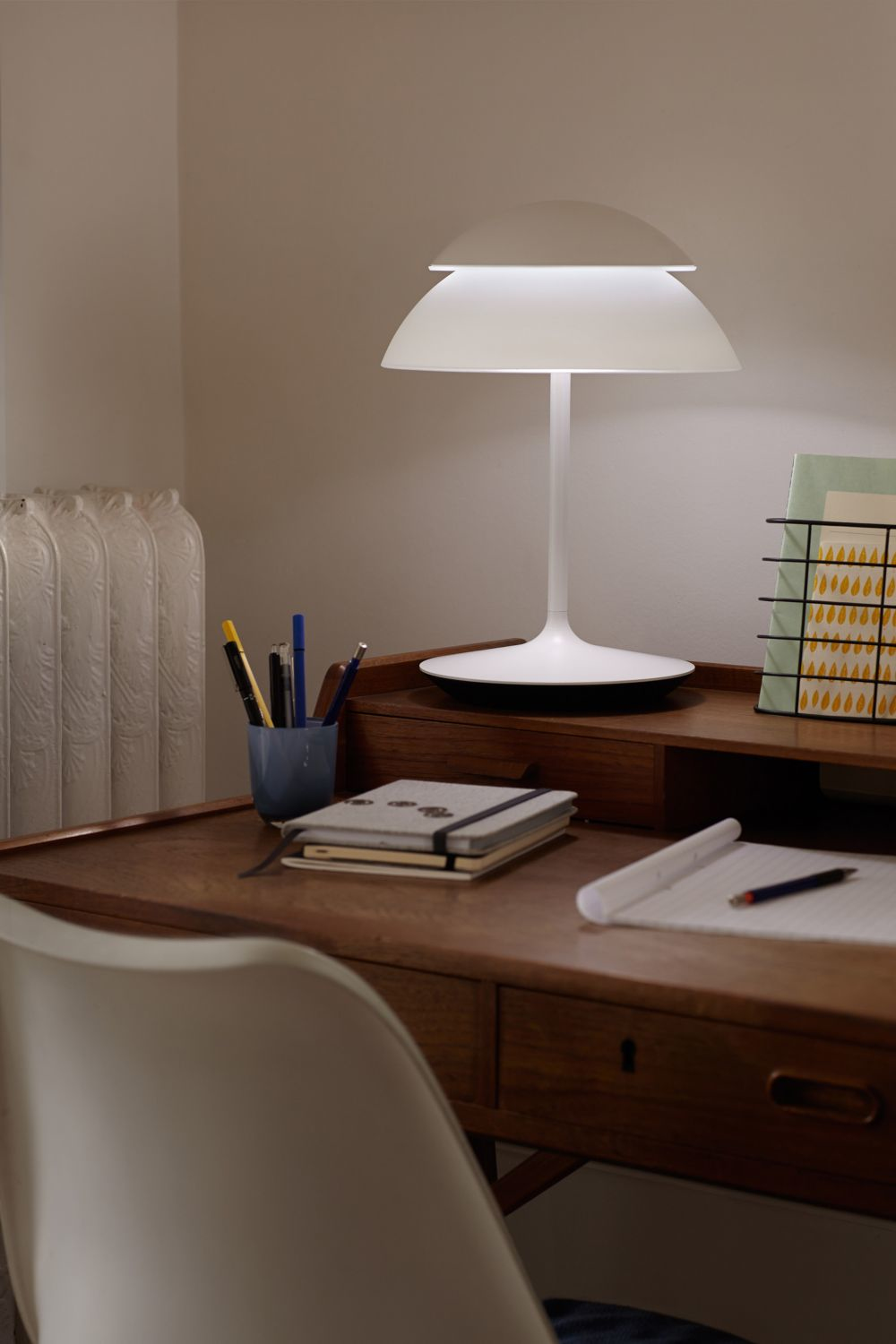philips led connected lampe hue beyond tischleuchte starter set smart home licht ebay. Black Bedroom Furniture Sets. Home Design Ideas