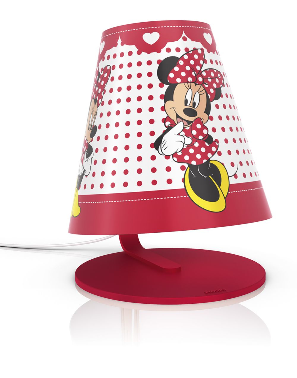 Philips lampe kinderzimmer disney tischleuchte minnie mouse licht 717643116 ebay - Minnie mouse kinderzimmer ...