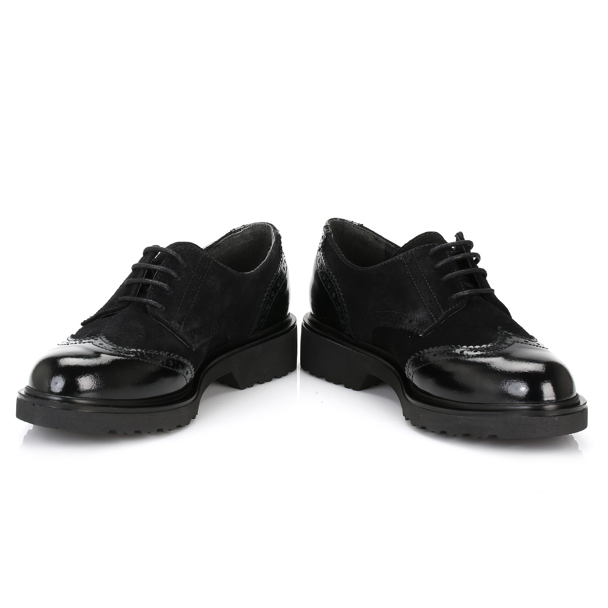 Womens Black Flat Casual Shoes