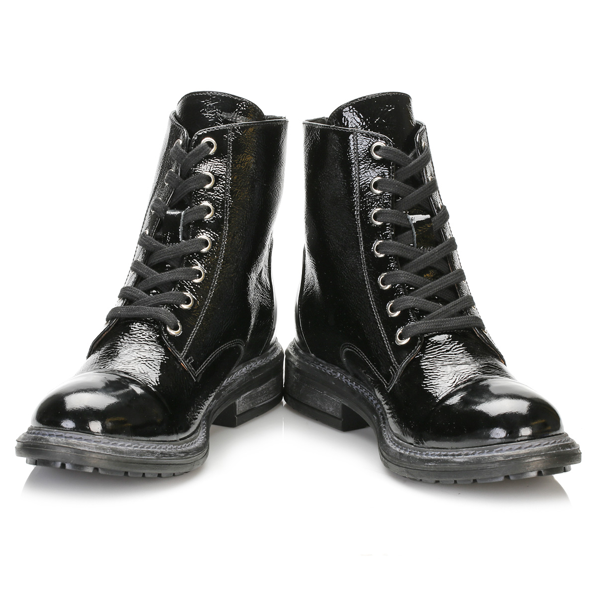 tower womens black patent leather boots casual ankle