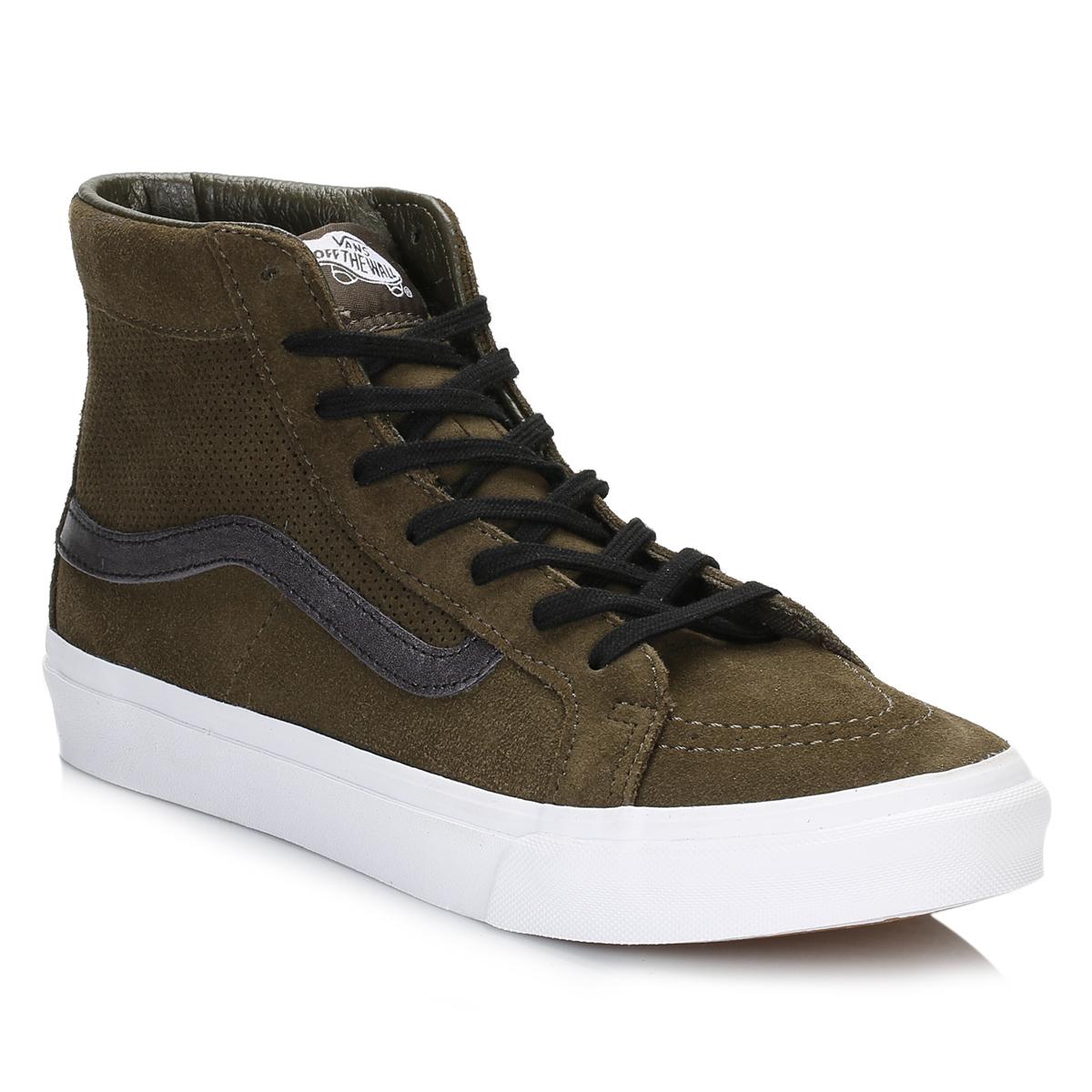 Khaki Vans Shoes Womens