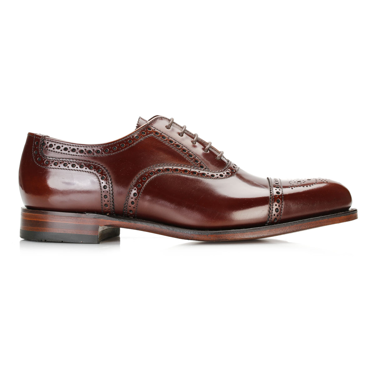 Vintage Brown Leather Lace Up Brogues Church S Shoes
