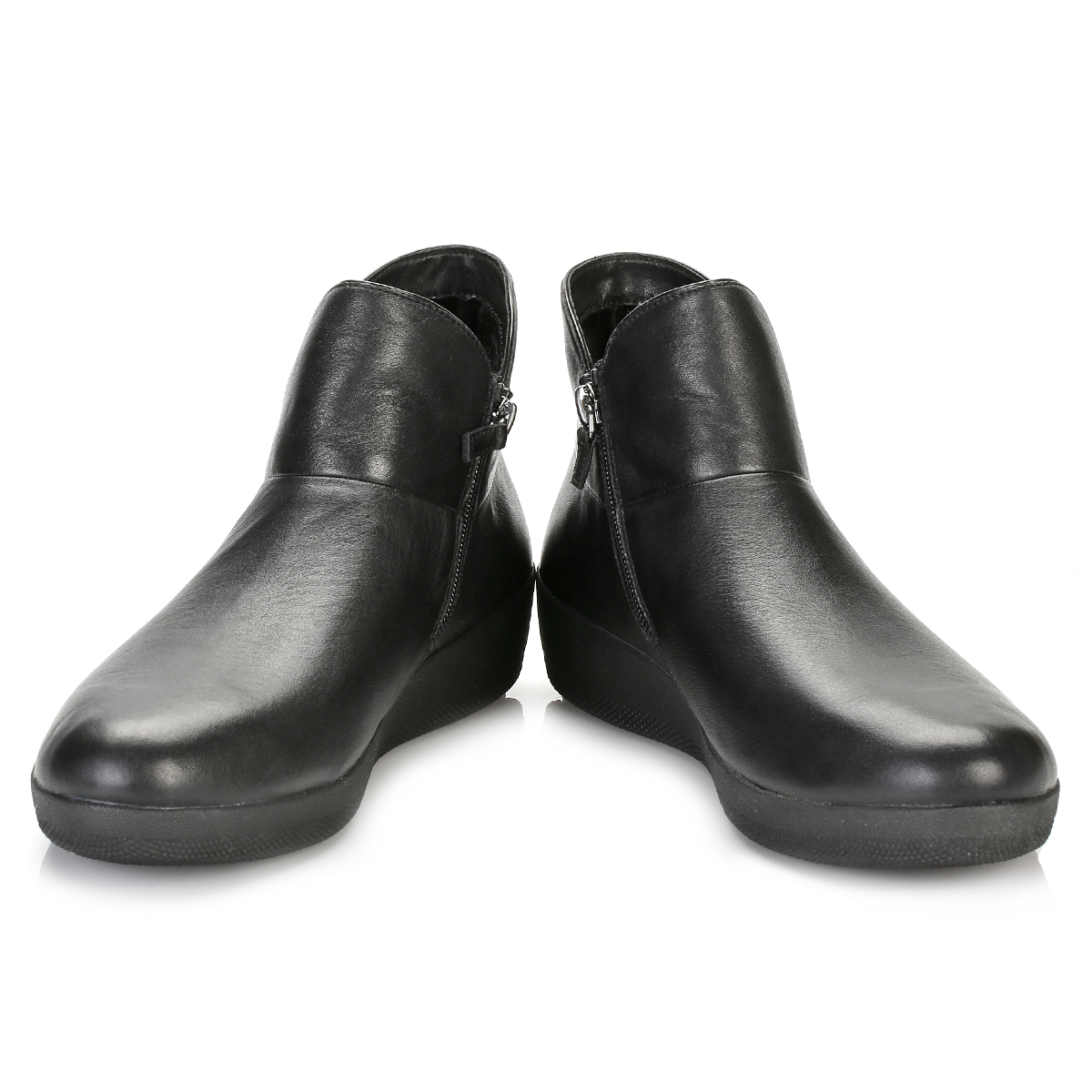 fitflop womens all black supermod ankle boots leather