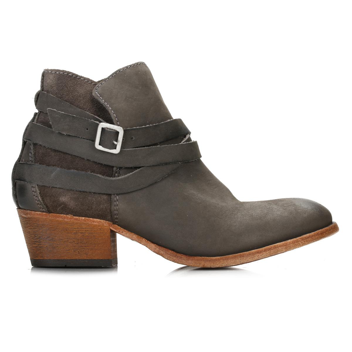 Grey Mid Heel Shoes Uk