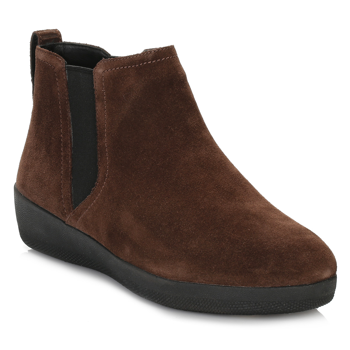Unique Dark Brown Leather Ankle Boots  Boot Yc