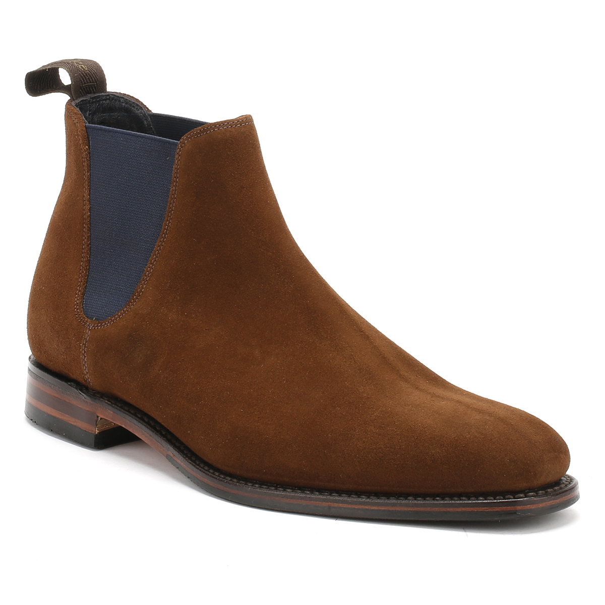 loake mens ankle boots chelsea caine brown or black