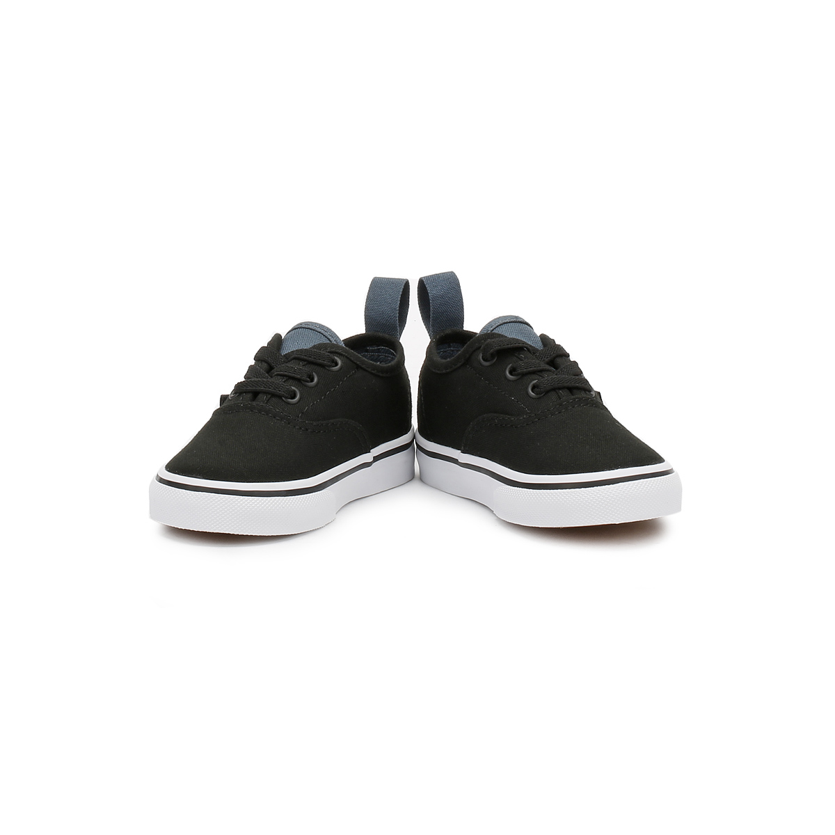 vans authentic infants toddlers trainers black canvas