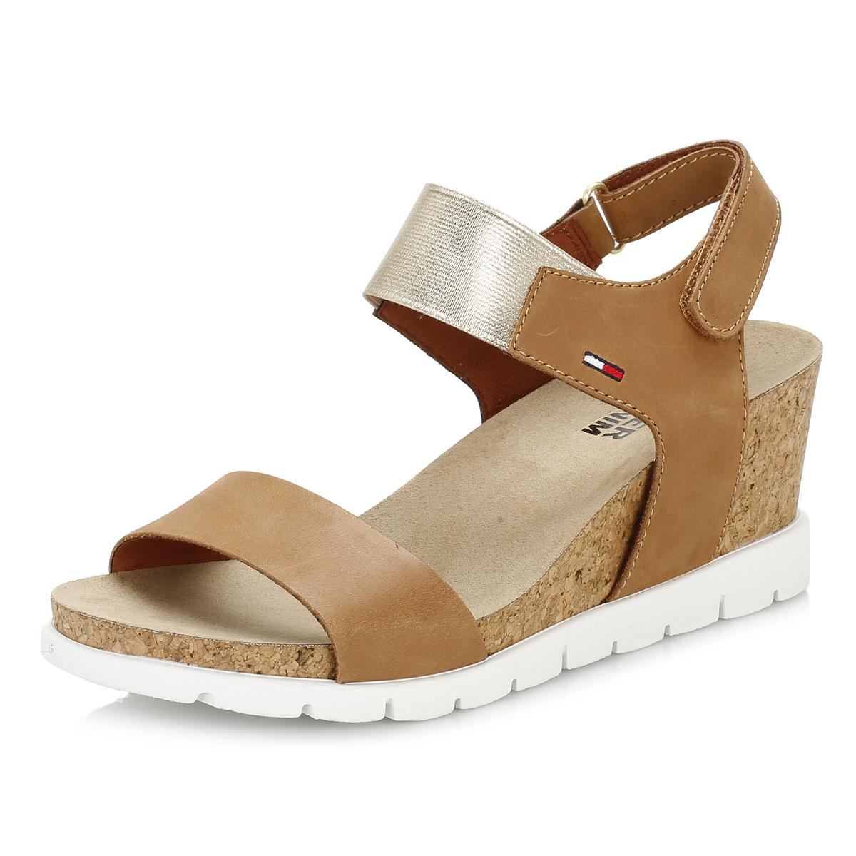 Black Wedge Summer Shoes