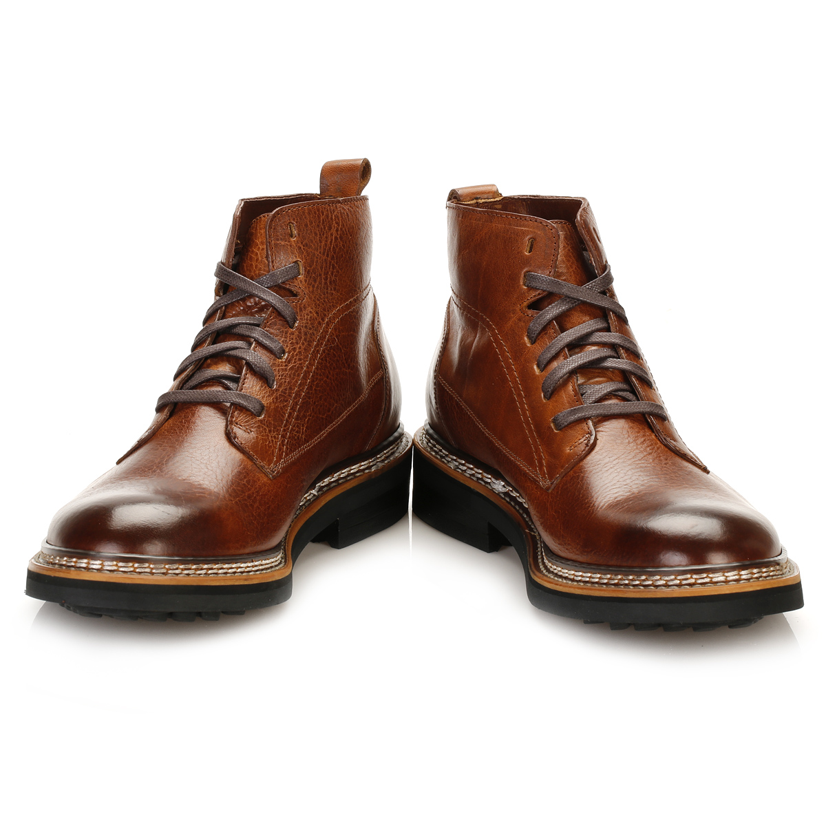 cat caterpillar mens brown leather chukka boots goodyear