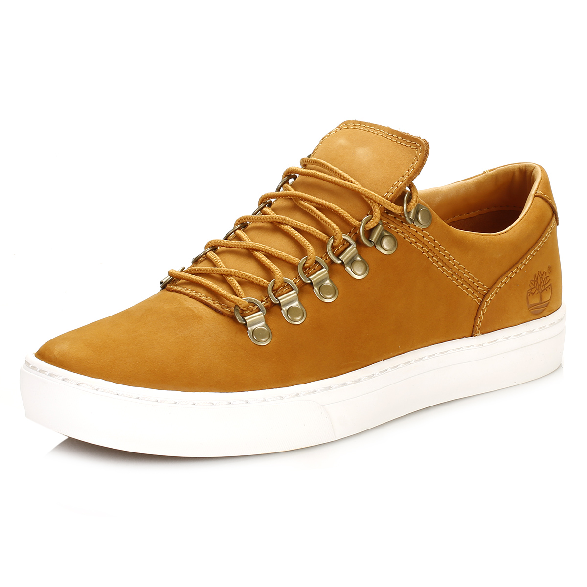 timberland mens tan trainers adventure 2 0 cupsole alpine ox nubuck shoes ebay. Black Bedroom Furniture Sets. Home Design Ideas