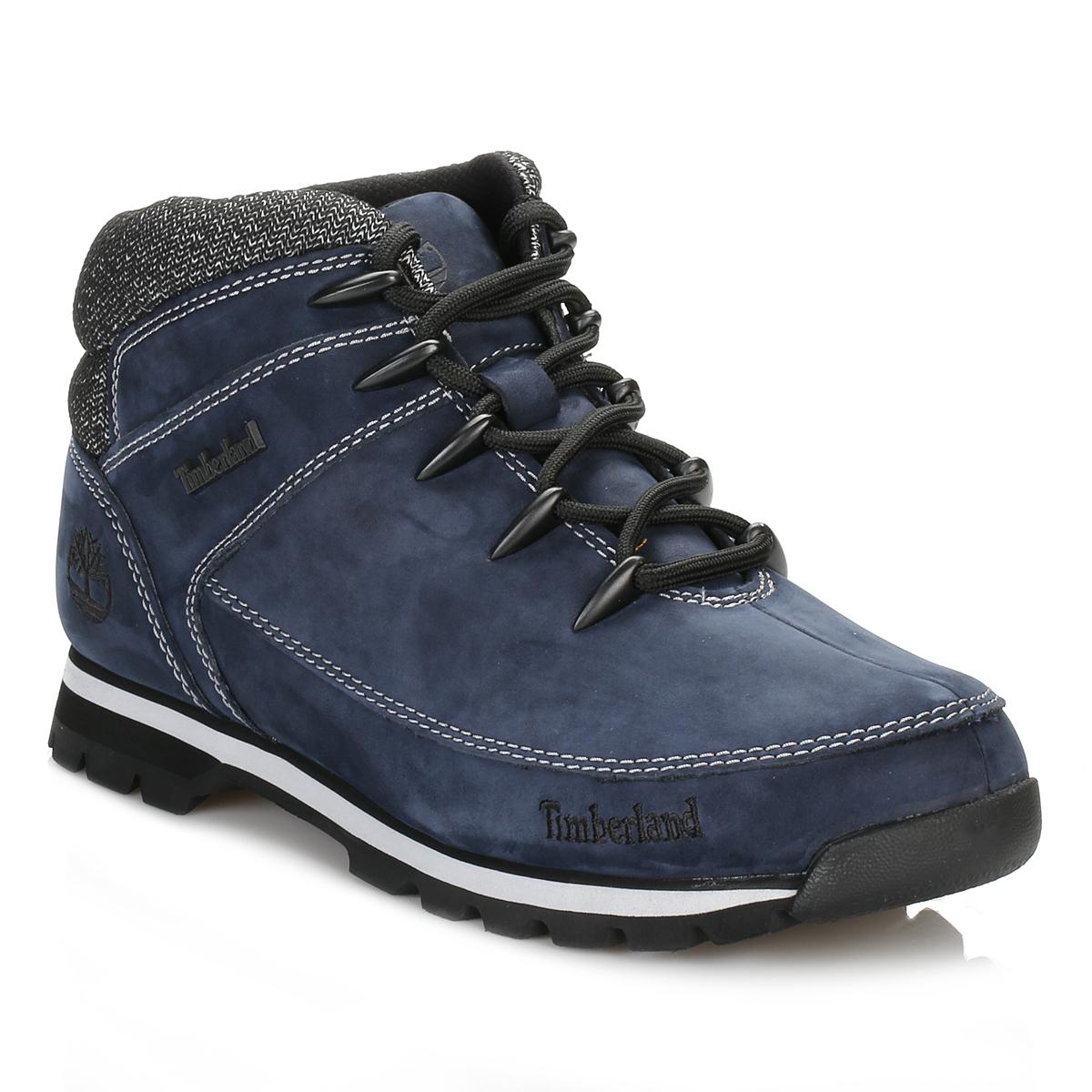timberland mens hiker boots navy blue sprint