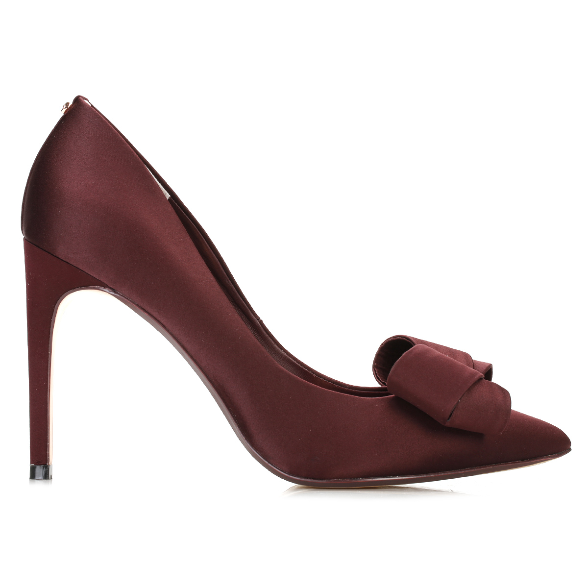 ted baker womens court shoes burgundy stiletto high