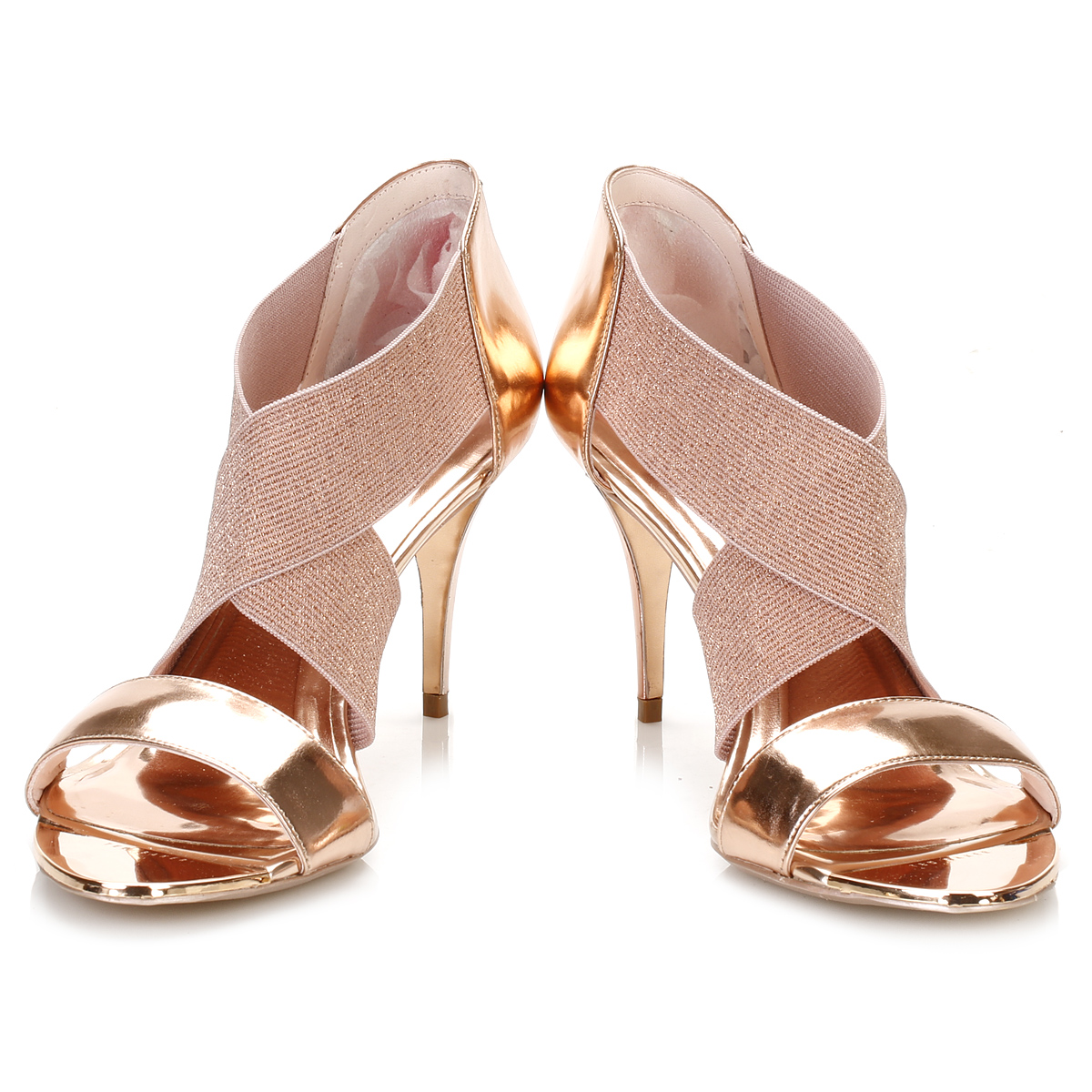 Ted Baker Ladies Shoes Black And Gold