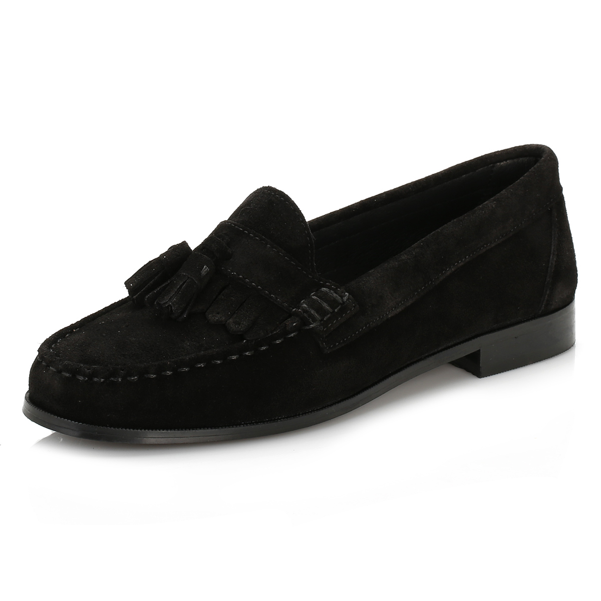 Ladies Black Boat Shoes