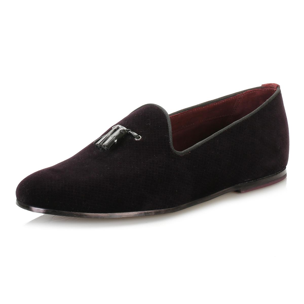 Ted Baker Mens Velvet Shoes
