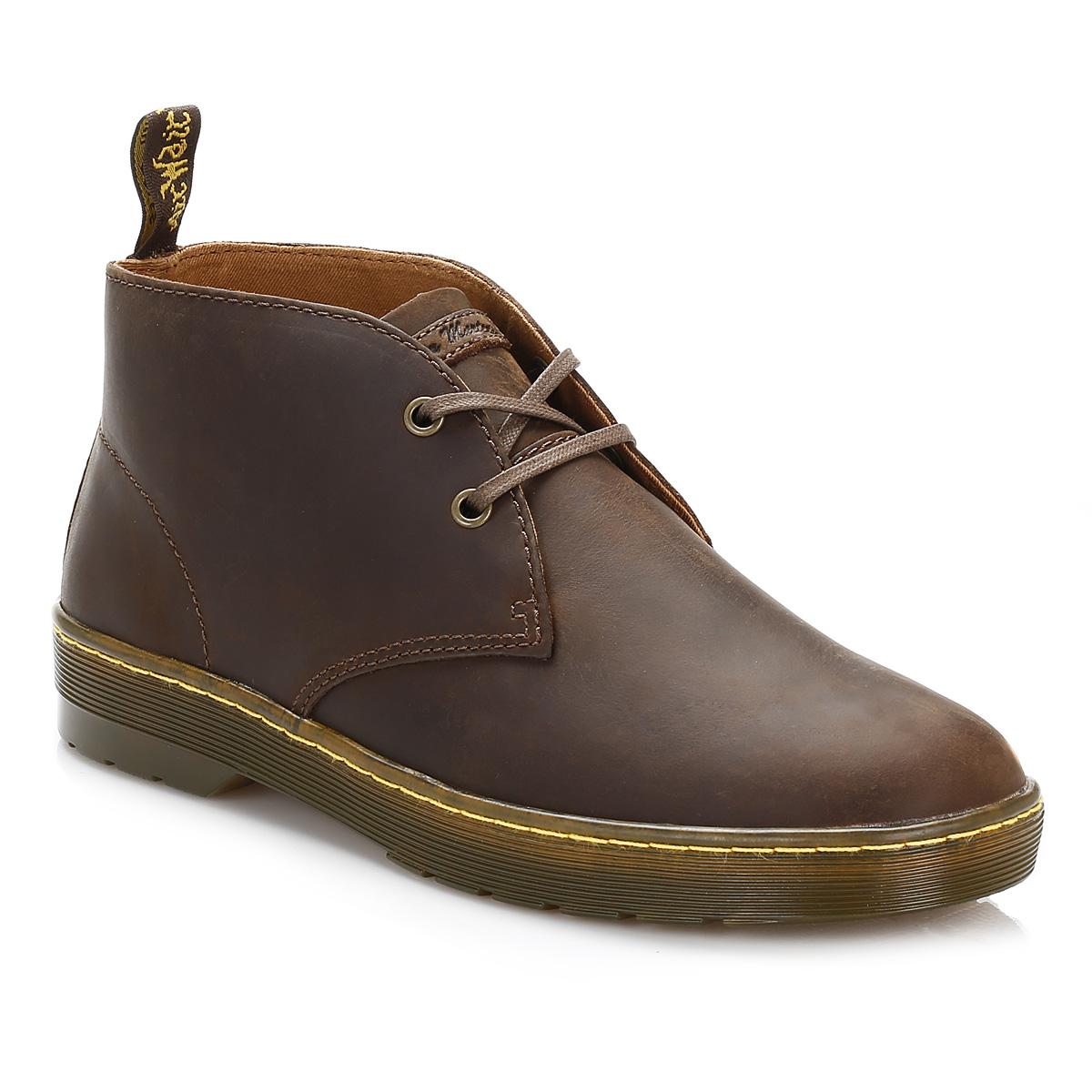 dr martens mens docs gaucho cabrillo desert boots brown