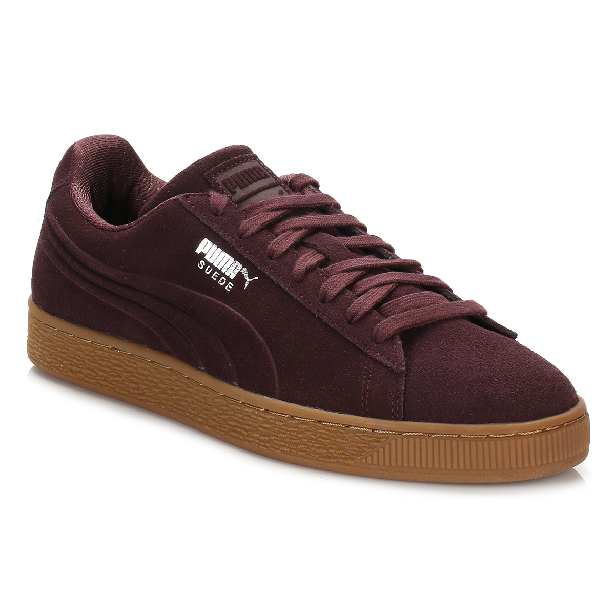 how to clean puma suede trainers