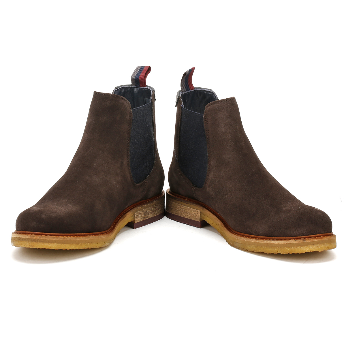 Ted Baker Bronzo Suede Chelsea Boots In QGZHX
