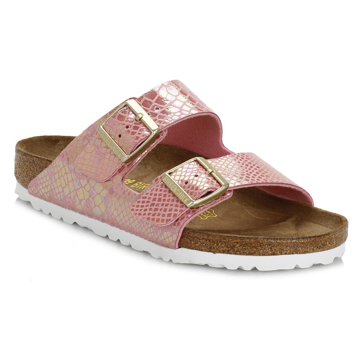 birkenstock womens sandal rose pink birko flor arizona. Black Bedroom Furniture Sets. Home Design Ideas
