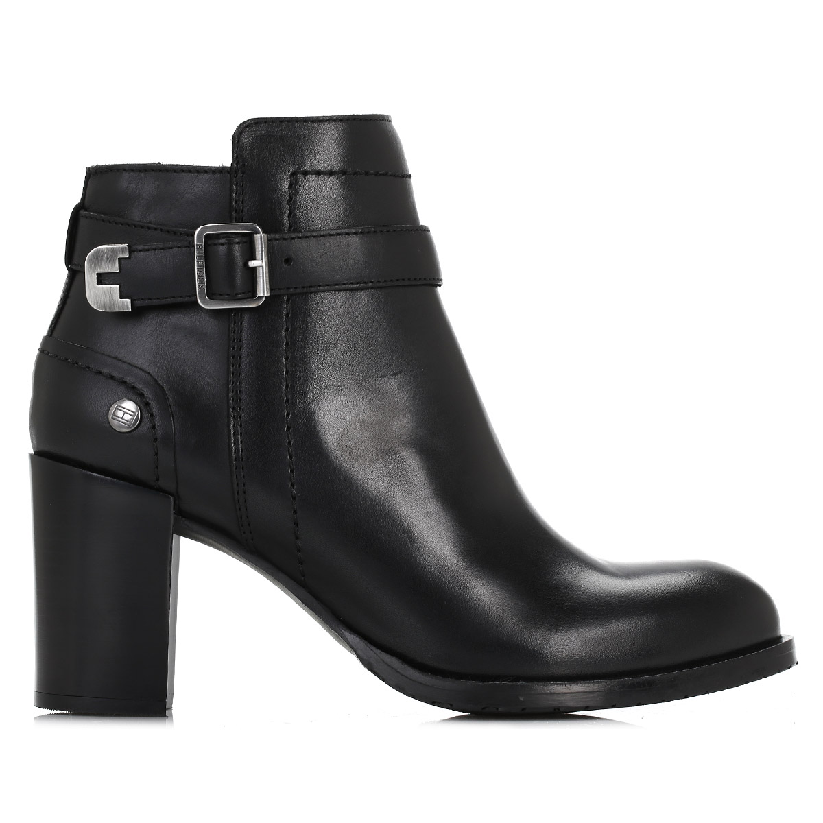 tommy hilfiger womens ankle boots black penelope 3a. Black Bedroom Furniture Sets. Home Design Ideas