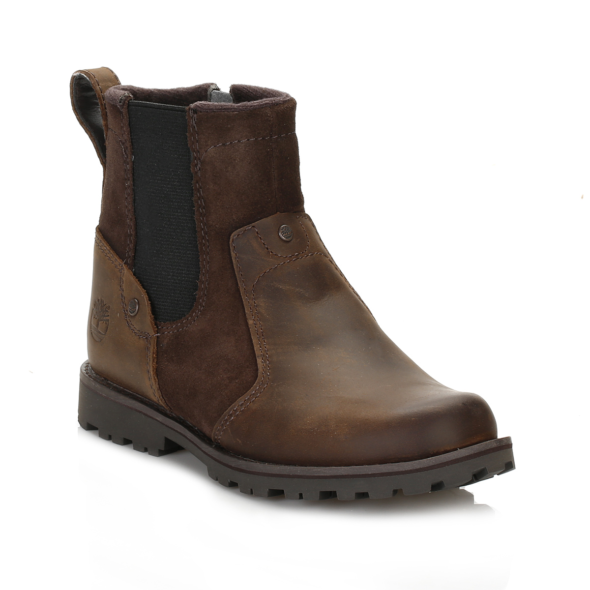Childrens Brown Leather Shoes