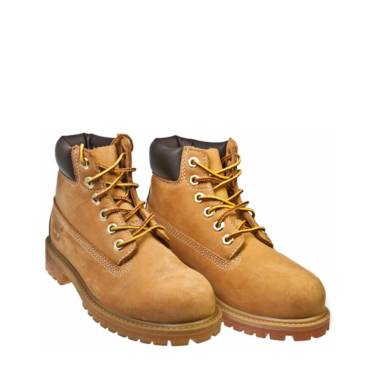 Timberland 6 Quot Girls Boys Kids Wheat Brown Leather Ankle