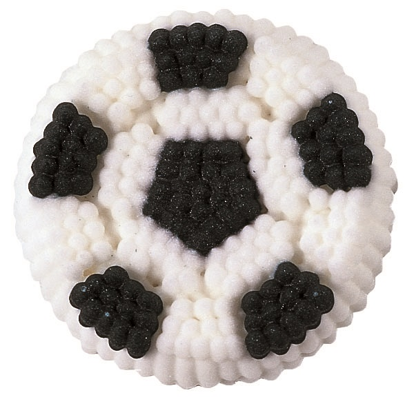 Cake Decorating Sugar Balls : Wilton Football Balls Icing Edible Sugar Cake Decoration ...