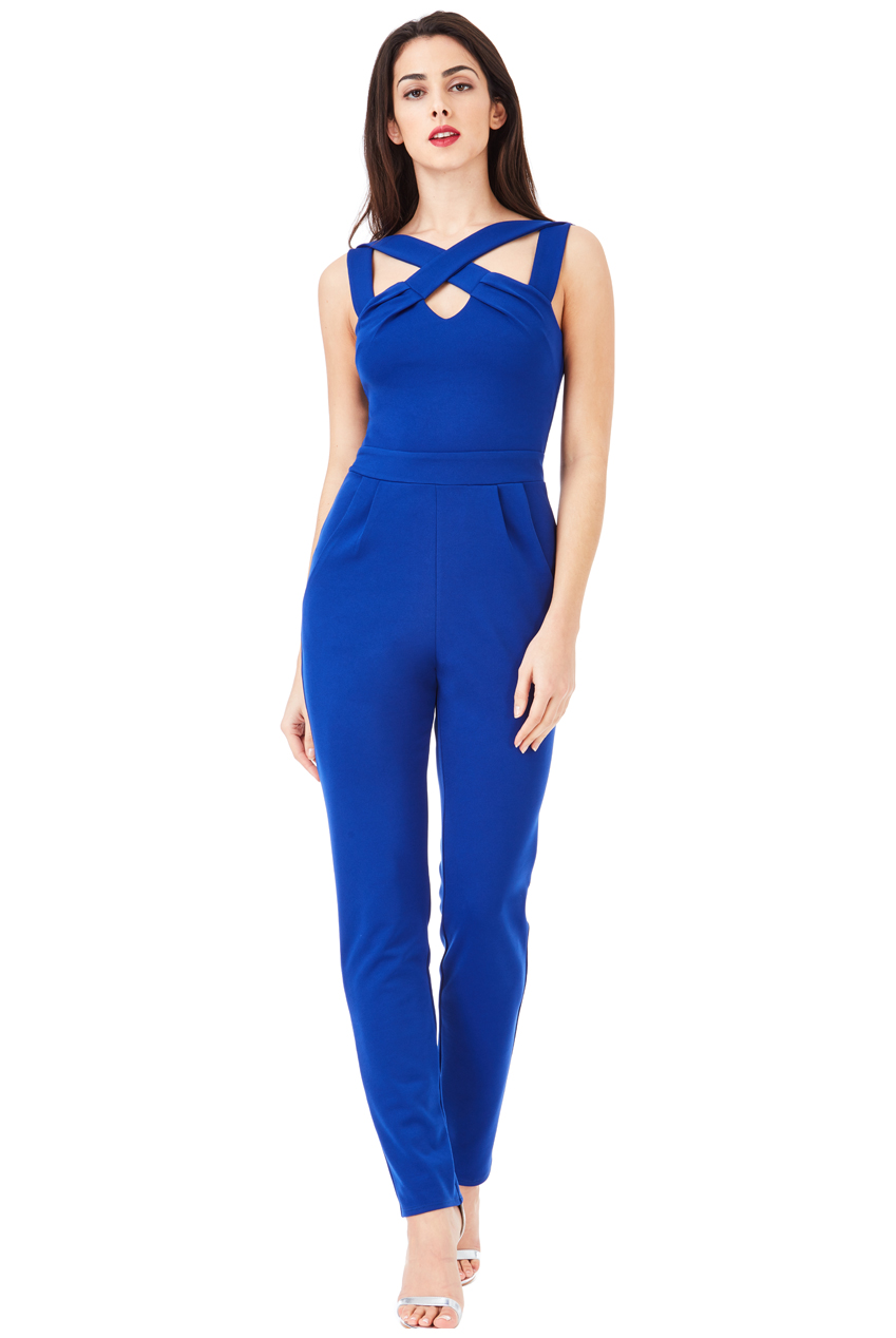 New These Young Women Were Happy To Share  Jumpsuits Are A Favorite For This High Schooler Her Floral, Royal Blue Jumpsuit From Charlotte Russe Was $25, And She Paired It With Flashy, Long Earrings An