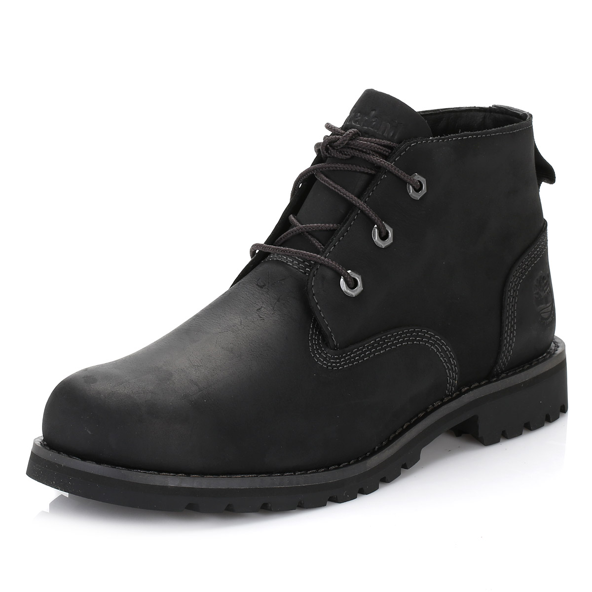 timberland mens chukka boots black