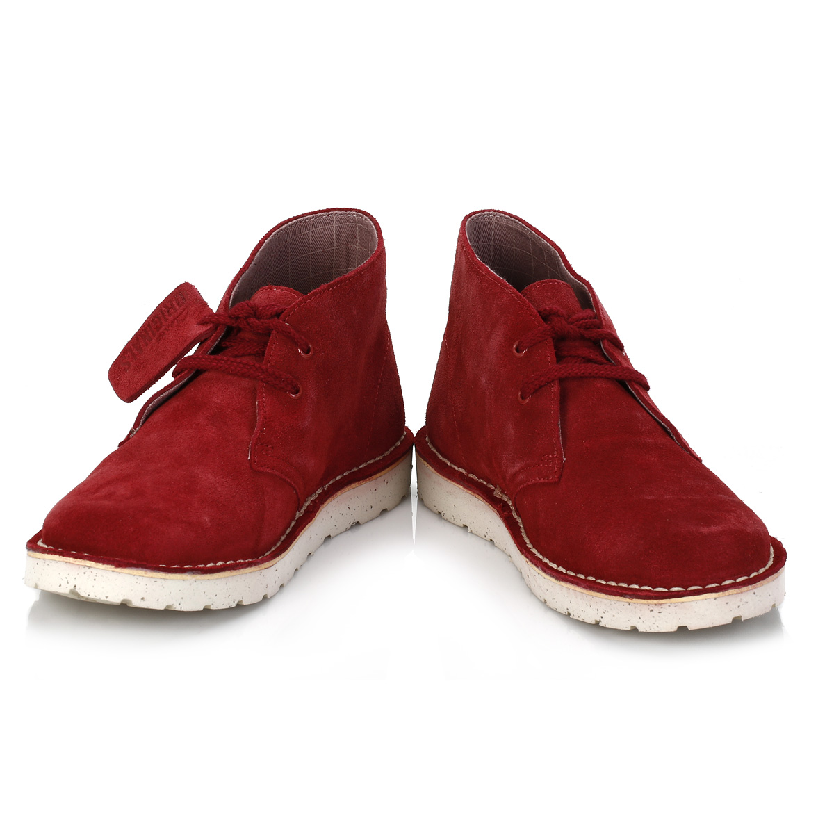 Womens Red Bootie Shoes